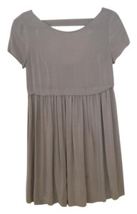 Forever 21 short dress taupe on Tradesy