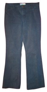 Levi's Boot Cut Pants denim dark blue