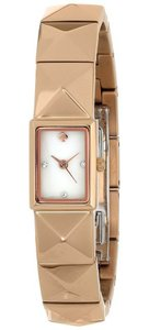 Kate Spade Kate Spade Women's New York Cobble Gold-Tone Pyramid Watch 1YRU0276