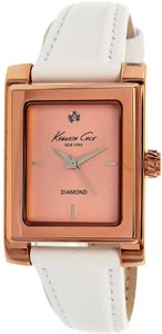 Kenneth Cole Kenneth Cole Women's 10022543 Rose Gold Leather Watch