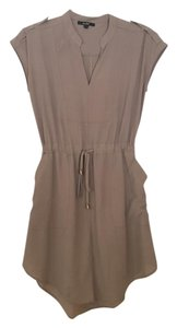 Papaya short dress Taupe on Tradesy