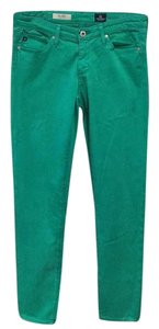 AG Adriano Goldschmied Skinny Pants Kelly Green