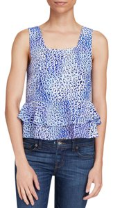 Rebecca Taylor Leopard Animal Print Free Shipping Top $55 New W/ Tags Size 12