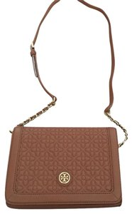 Tory Burch Bryant Quilted Britten Marion Cross Body Bag