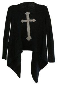 Wet Seal Cross Tunic Goth Sweater