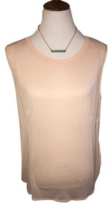 Vince Free Sleeveless Top $50 FIRM Size L **Free Shipping** NWT