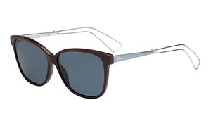 Dior NEW Christian Dior Confident 2 Burgundy Cat Eye Sunglasses