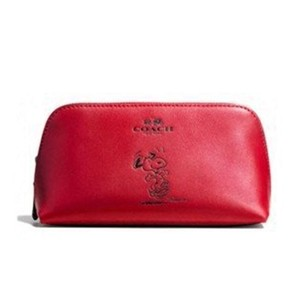 Coach Snoopy X Peanuts Cosmetic Pouch Case