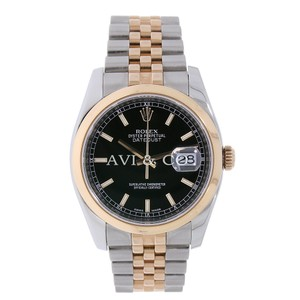 Rolex Datejust 36 Everose Gold & Stainless Steel Two-Tone Jubillee Bracelet