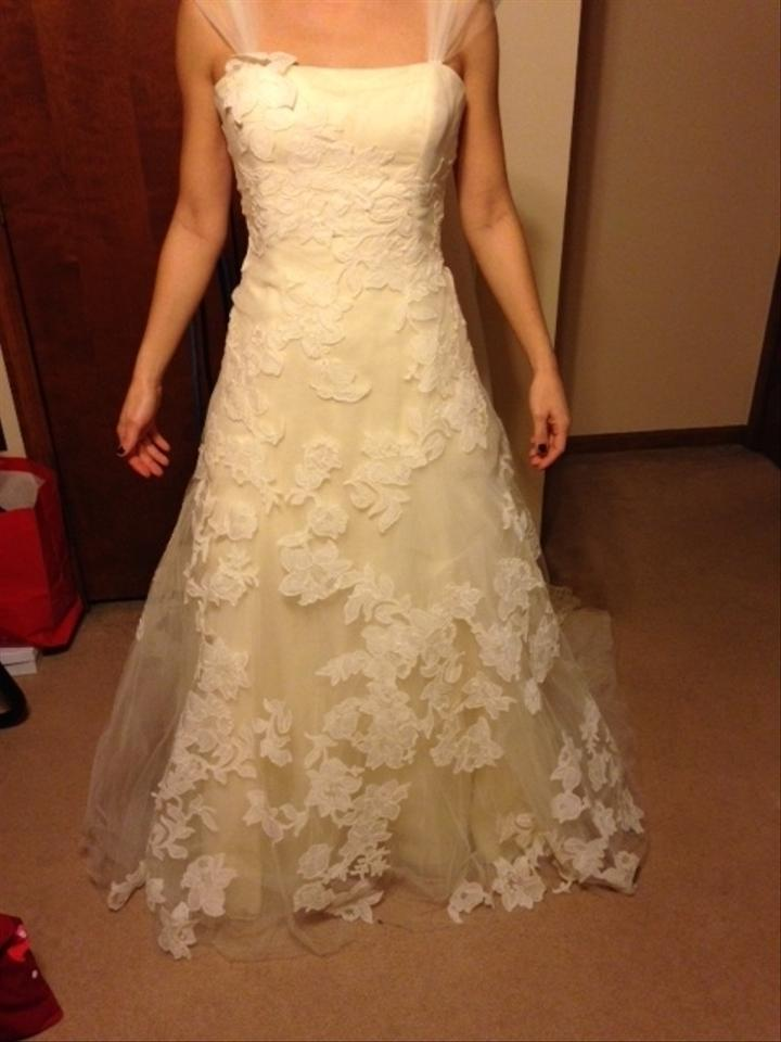Vera wang luxe nadia wedding dress on sale 80 off for Best way to sell used wedding dress