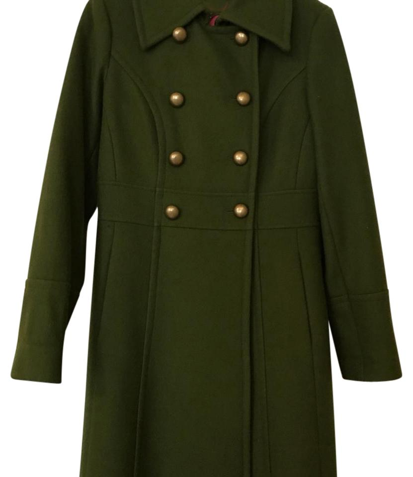 buy sale classic good out x Olive Green Wool Coat
