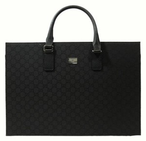 Gucci Business Business Laptop Briefcase Tote in Black
