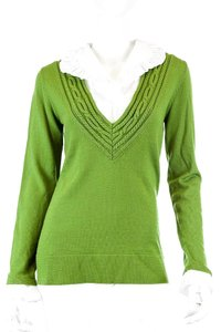 Tory Burch Merino Wool Wool Sweater