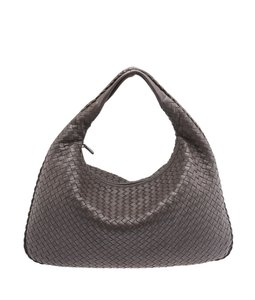 Bottega Veneta Leather Hobo Shoulder Bag