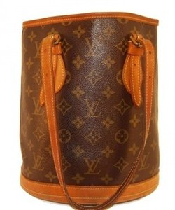 Louis Vuitton Petit Bucket Vintage Shoulder Bag