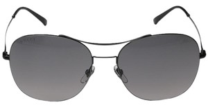 Gucci NEW Gucci TECHNO COLOR ULTRA- LIGHT Black Round Wired Sunglasses