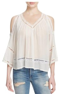 Rebecca Minkoff Cold Shoulder Top White