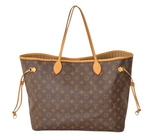 Louis Vuitton Lv Neverfull Gm Neverfull Gm Tote in Brown