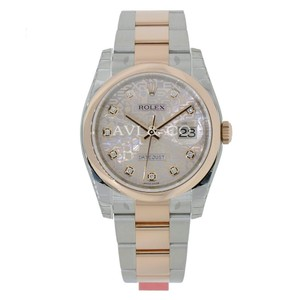 Rolex Rolex Datejust 36 Steel & Everose Gold Watch Pink Jubilee Diamond Dial