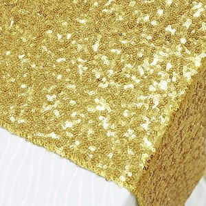 (10) Gold Sequin Table Runners