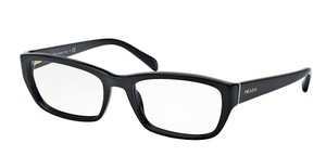 Prada PR 180VA 1AB1O1 (color) BLACK PRADA OPTICAL GLASSES - FREE SHIPPING