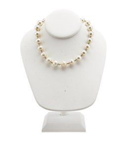 Chanel Chanel Pearl Imitation 12mm Necklace (105313)
