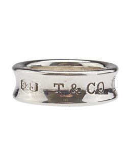 Tiffany & Co. Tiffany & Co. 1997 Sterling Silver Ring, Size 6 (102069)