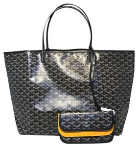 Goyard St Louis Tote in Black