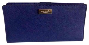 Kate Spade Kate Spade Newbury Lane Stacy Bifold Indigo (Navy Blue) Leather Wallet