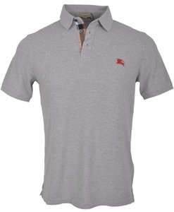 Burberry Polo Men's Polo Polo T Shirt grey