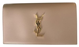 Saint Laurent Ysl Pink Clutch