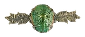 Other Victorian Egyptian Revival Scarab Beetle Brooch