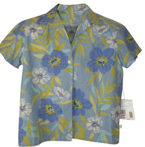 Liz Claiborne Summer Top BLUES
