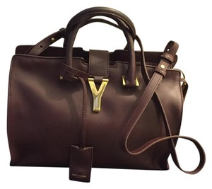 Saint Laurent #saintlaurent #ysl #cabasy #cabas #saintlaurentbag Satchel in Amarena ( Wine)