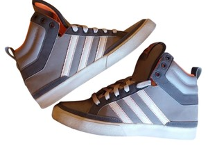 adidas High Top Sneaker Street Style Gray Athletic