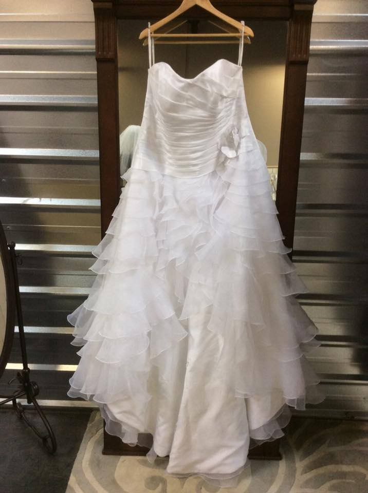 David 39 s bridal 9t3505 wedding dress on sale 50 off for David bridal wedding dresses on sale