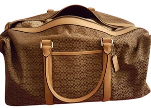 Coach Khai tan Travel Bag