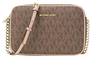 Michael Kors Kors Jet Set Floral Perforated Cross Body Bag