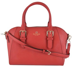 Kate Spade Handbag Satchel in Red