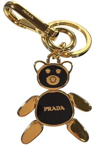 Prada PORTACHIAVI SMALTO Key Chain.