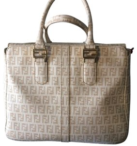 Fendi Satchel in Cream