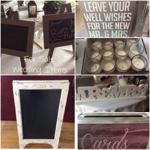 Wedding Decor Used Only Once On October 22, 2016