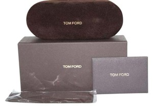 Tom Ford Tom Ford Faux Suede Brown hard Sunglasses CASE+BOX+CLEANING CLOTH