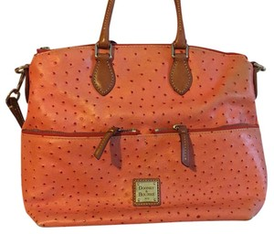 Dooney & Bourke Satchel in Orange
