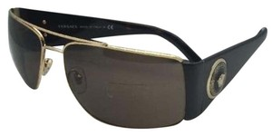 Versace New VERSACE Sunglasses VE 2163 1002/73 63-15 Gold & Tortoise w/Brown