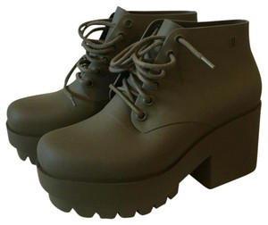Melissa Army green Mules