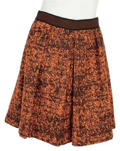 Proenza Schouler Mini Skirt Orange & Black