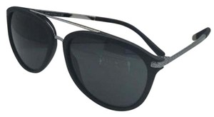 Versace New VERSACE Sunglasses VE 4299 5141/87 Black Rubber & Gunmetal w/Grey