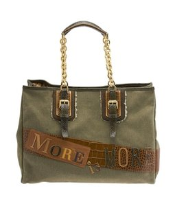 Longchamp Tote in Khaki
