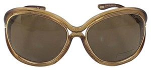 Tom Ford Saantha Tom Ford TF 52 Brown Plastic with metal insert